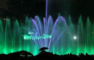 Syrenka wyskoczyła pod Zamkiem - Multimedialny Park Fontann w Warszawie